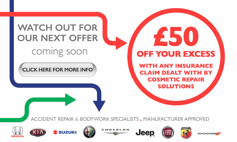 CRS Spring 2015 - £50 off your Insurance Excess