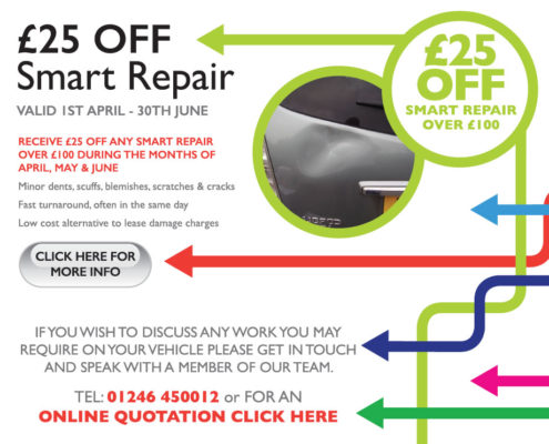 Spring 2018 Offers - £25 off smart repairs