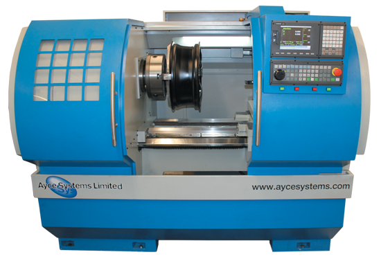Diamond Cut Alloy CNC Lathe