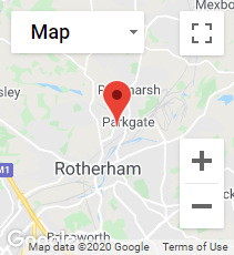 CRS Rotherham mini map