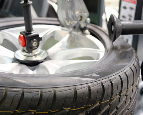 tyre fitting balancing Chesterfield Rotherham